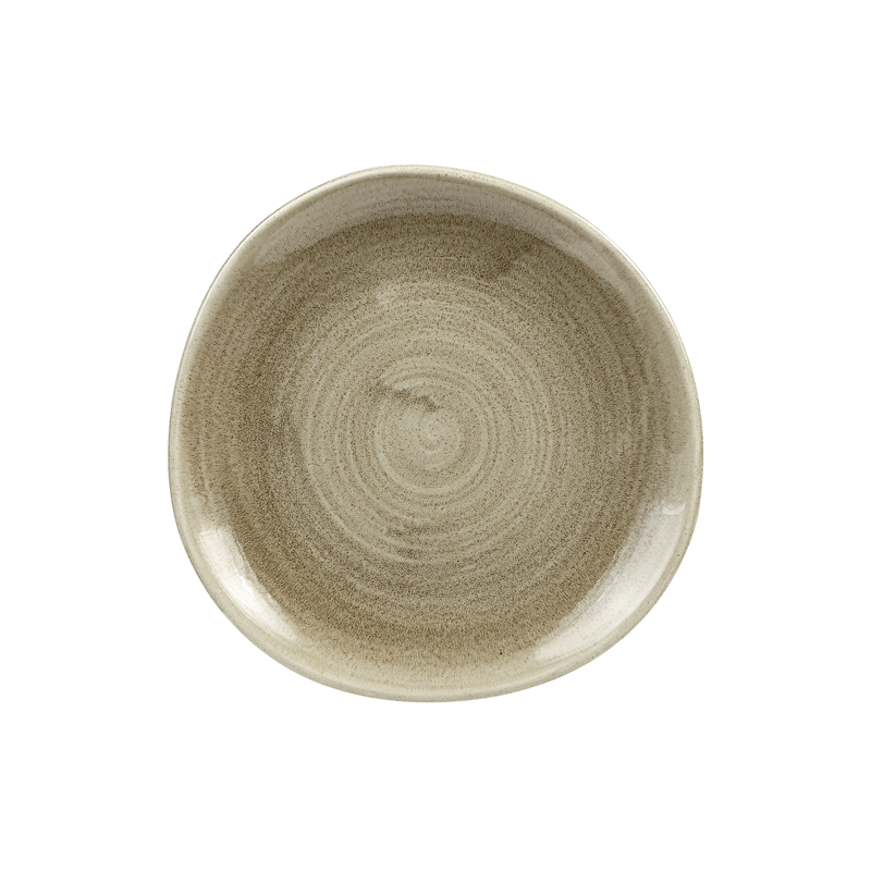 Churchill Stonecast Patina Organic Round Plates  sc 1 st  Bentons & Churchill Stonecast Patina Organic Round Plates Antique Taupe (21cm ...