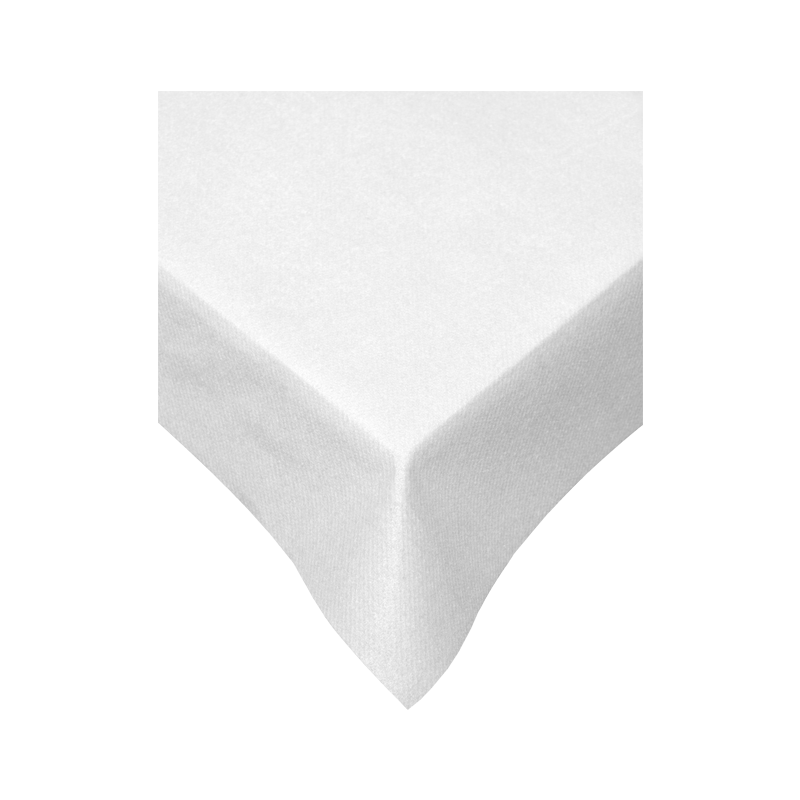 Swantex 120X120cm Swansoft White Table Covers QTY 50